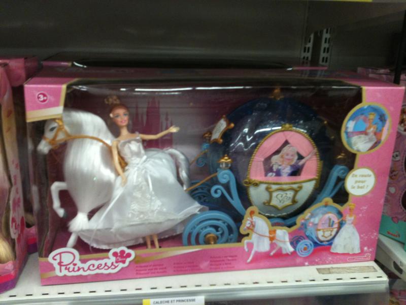 Mbi princesse et carrosse partir de 3 ans la boite tous les produits jou - Carrosse de princesse ...