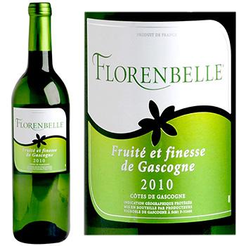 vin blanc sec florenbelle 2010 75cl tous les produits vins blancs prixing. Black Bedroom Furniture Sets. Home Design Ideas