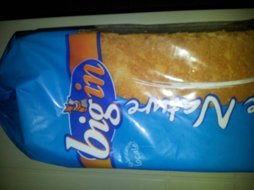 Pain de mie bigin nature, 660g