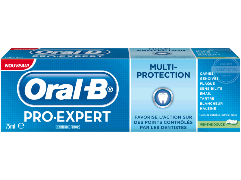 Dentifrice menthe douce Oral B