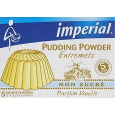 Pudding vanille non sucre imperial etui 5X30g