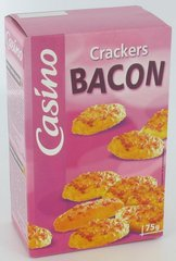 Crackers bacon