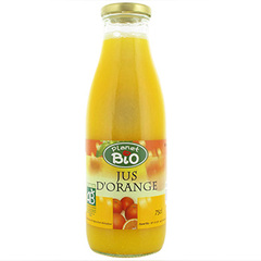 Jus d'oranges Planet Bio 75cl
