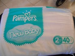 Couches Pampers Baby Dry Paquet T2 x35