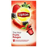 Lipton Thé Fruits Rouges 10 Capsules Compatibles Nespresso® - 25 g