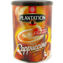 Cappuccino soluble Plantation Saveur chocolat 306g
