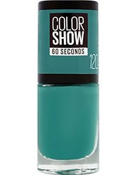 Gemey Maybelline Colorshow - Vernis à ongles -120 URBAN TURQUOISE - Vert intense