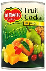 COCKTAIL DE FRUITS 1/2 AU JUS - DEL MONTE
