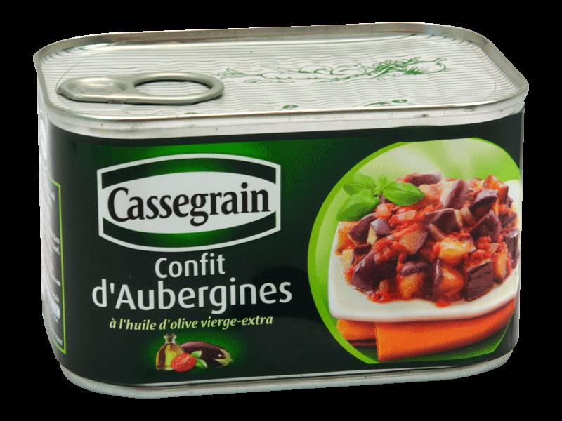 confit d 39 aubergines a l 39 huile d 39 olive vierge tous les produits conserves de l gumes l gumes. Black Bedroom Furniture Sets. Home Design Ideas