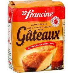 Farine a gateaux francine 1kg tous les produits farines prixing - Carbonate de sodium danger ...