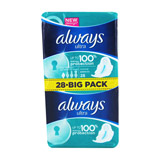 serviettes normal + jumbo pack x28 always
