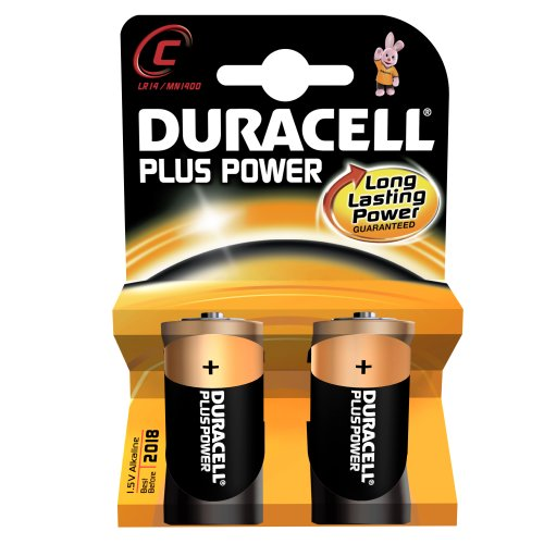 PILE DURACELL LR14 C PLUS POWER X2