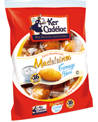 Madeleines extra moelleuses au fromage blanc