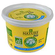Fromage blanc bio nature 20% Mat.gr