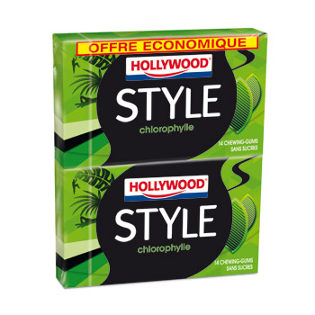 Hollywood style chlorophylle x2 -54g