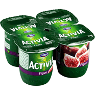 DANONE : Activia - Yaourts aux Figues
