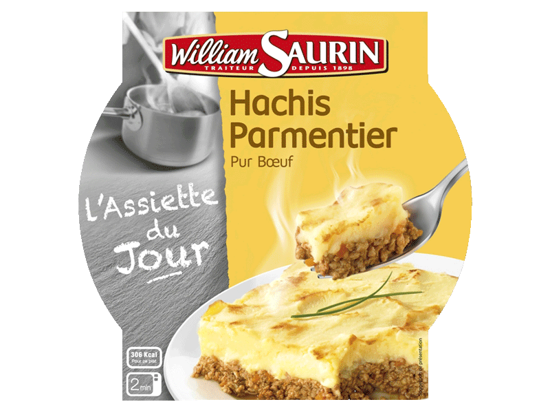Hachis parmentier William Saurin 300g