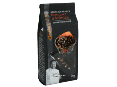 Cafe en grain pur arabica bouquet d'aromes