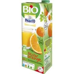 Paquito, Nectar d'orange BIO, la brique de 1,5 l
