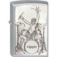 Zippo Collection 2013 2.003.071 Cigarette Lighter Drummer Satin Finish