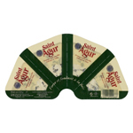 Fromage pasteurise a pate persillee 33%mg St Agur port.4x30g