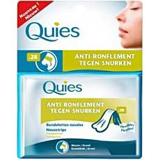 Bandelettes nasales anti ronflements QUIES, 24 unites