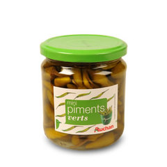 Mini piments verts