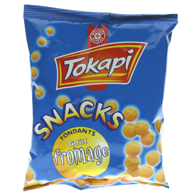 Biscuits Tokapi Snacks Souffles Fromage 50g