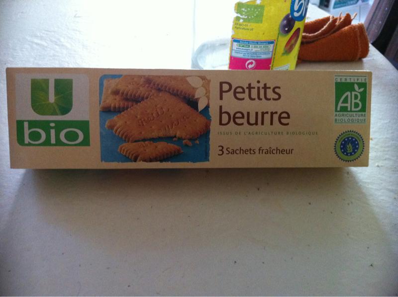 Biscuits petit beurre u bio 150g tous les produits biscuits g teaux prixing - Carbonate de sodium danger ...