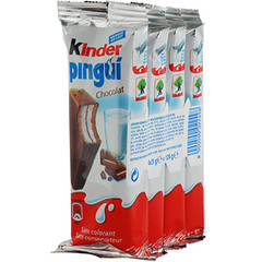 Kinder pingui cacao x4 124g