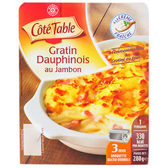 Gratin dauphinois Cote Table 280g