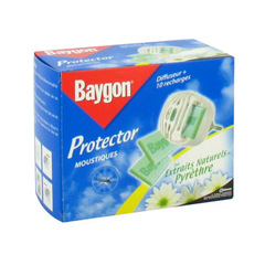 Diffuseur + 10 recharges Baygon Protector