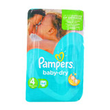 couches baby dry x44 taille 4 pampers