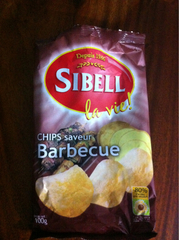 Colis de Chips Barbecue 100g