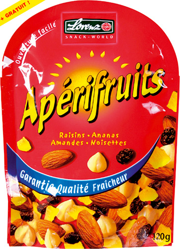 Aperifruits rouge 2 x 120g