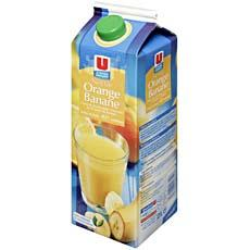 Nectar orange banane U, 2l