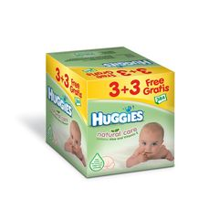 Huggies lingette natural care 3x64