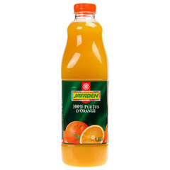 Jus d'orange Jafaden Sans pulpe 1.5 l