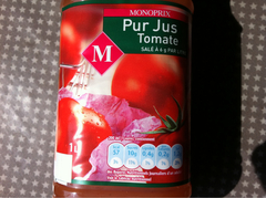 Pur jus tomate