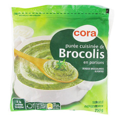 Puree de brocolis cuisinee