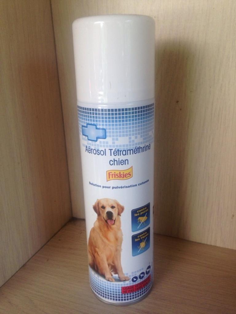 anti parasitaires tetramethrine pour chien friskies aerosol de 250ml tous les produits. Black Bedroom Furniture Sets. Home Design Ideas