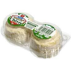 Crottins de chevre au lait pasteurise U, 25%MG, 2 pieces, 120g