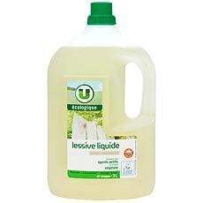 lessive liquide parfum magnolia et lys u ecologique 45 doses 3l tous les produits poudre et. Black Bedroom Furniture Sets. Home Design Ideas