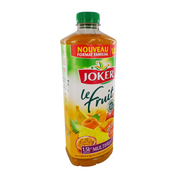 Joker le fruit jus multifruits 1,5l