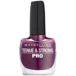 Vernis a ongles Tenue & Strong Pro GEMEY MAYBELLINE, sundown social berry n°275