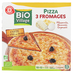 Pizza Bio Village 3 fromages 380g