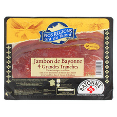 Jambon de bayonne Nos Regions ont du Talent 120g