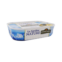 Connetable sardines nature 135g