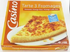 Tarte 3 fromages 400g
