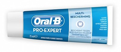 Dentifrice pro expert nettoyage intense ORAL B, tube de 75ml